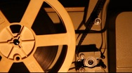 Stock Video Footage of Old projector