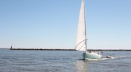 Stock Video Footage of Sailboat