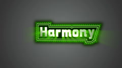 Harmony Label Stock Footage