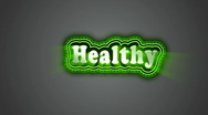 Stock Video Footage of Healthy Label