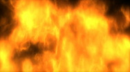 1080P 3D CG Fire Animation Background with Alpha Channel Stock Footage