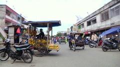 Banana Vendor  - stock footage