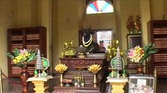 Royal Palace, Phnom Penh, Cambodia Stock Footage