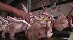 Chicken Feet 2 - stock footage