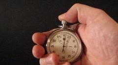 Time Adjustment Stock Footage