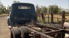 Rusty Classic Farm Truck 5 Stock Footage