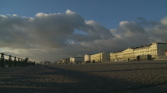 Brighton Promenade Stock Footage