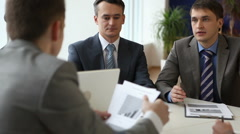 Business group Stock Footage