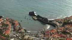 Camara de Lobos, Madeira Stock Footage