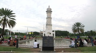 Stock Video Footage of Mosque Tower in Aceh