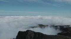Pico do Arieiro, Madeira, Portugal Stock Footage