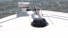Boat Anchor At Sea Stock Footage