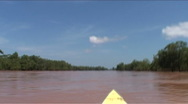 Stock Video Footage of Fast boat on the Mekong river