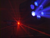 DJ Laser lights2 Stock Footage