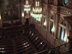 Pennsylvania Capitol House Chamber-Harrisburg Stock Footage