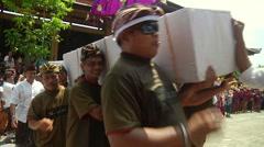 Bali Cremation HD 61 Stock Footage