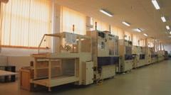 Technology 0001-SMD assembly machine Stock Footage