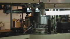 Technology 0007- SMD assembly machine Stock Footage