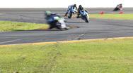 Stock Video Footage of Superbike Racing Motorcycles