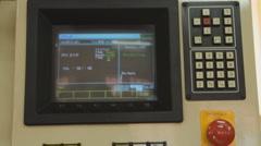 Technology 0013-SMD assembly machine Stock Footage