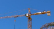 Stock Video Footage of Idle Tower Crane 2