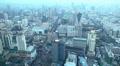 Aerial View Of City Skyline Bangkok, Thailand, Rachaprarop, Pratunam, Skyscraper Footage
