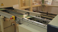 Technology 0015-SMD assembly machine Stock Footage
