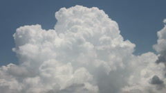 Billowing White Clouds - stock footage