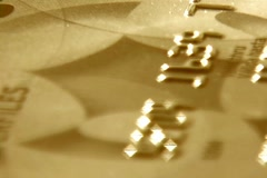 Credit card Stock Footage