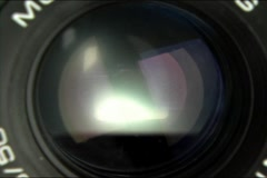 Stock Video Footage of Camera lens