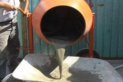Concrete mixer Stock Footage