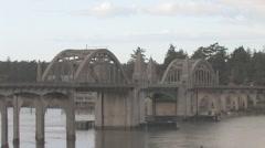 Florence Bay Bridge 02 Stock Footage