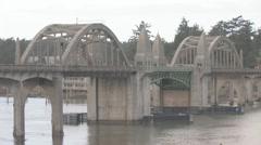 Florence Bay Bridge 021 Stock Footage