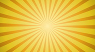 Stock Video Footage of Sunburst yellow background