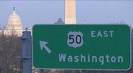 Washington, D.C. Stock Footage