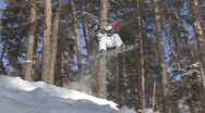 Stock Video Footage of snowboard
