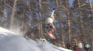 Snowboard Stock Footage
