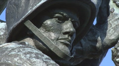 Iwo Jima Memorial Stock Footage