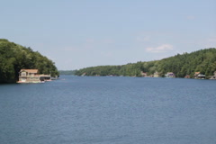 Muskoka channel. SD. Stock Footage