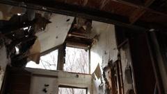 Abandoned Cottage Stock Footage