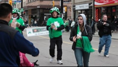 Saint Patrick's day Parade  Stock Footage
