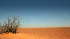 Desert - stock footage