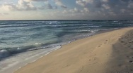 Beach Waves and Sand Stock Footage