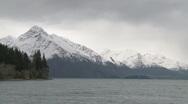 Cold mountain lake Stock Footage