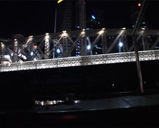 Under the Esplanade Bridge, Singapore_GFSD Stock Footage