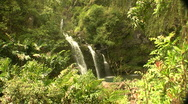 Stock Video Footage of Trip to Hana waterfalls