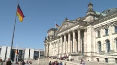 Reichstag Dome, Berlin Stock Footage