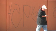 Stock Video Footage of Gang graffiti in Los Angeles