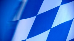 Bavarian Flag - stock footage