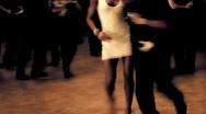 Latin Dancing at the Salsa Club 3 Stock Footage